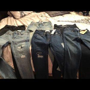 Boys a & f jeans